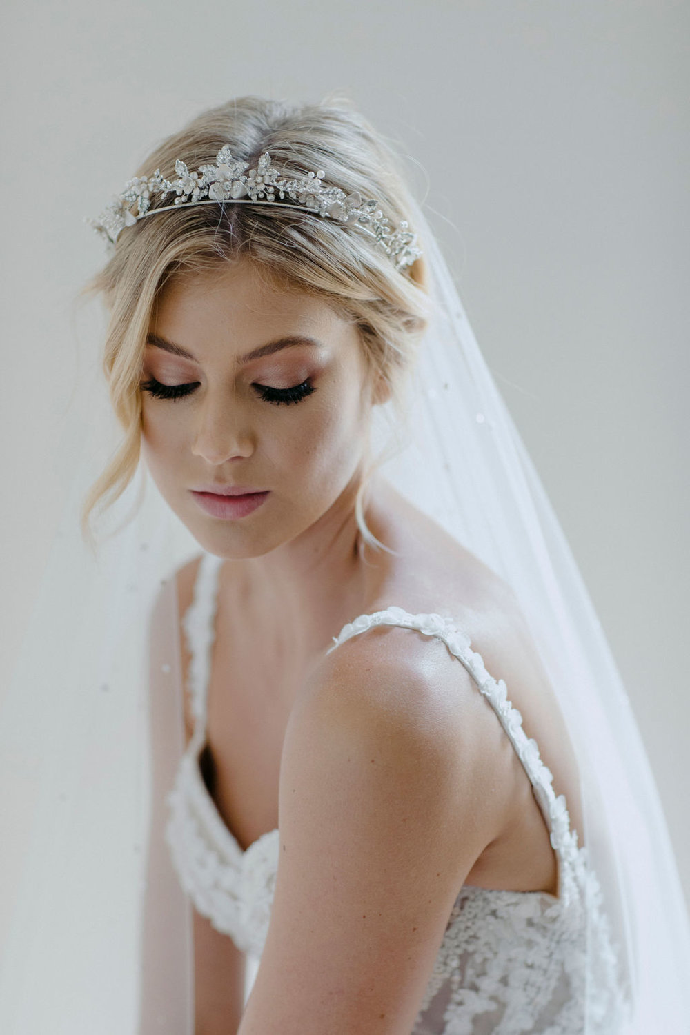 CASHMERE | CRYSTAL WEDDING TIARA by TANIA MARAS featured on LOVE FIND CO.
