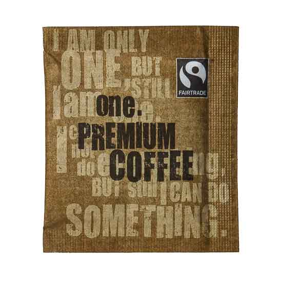 It's not often that the humble coffee gets to make a difference to anybody other than the drinker. But this premium instant coffee can do just that - it's Fairtrade, therefore helping out your fellow man.