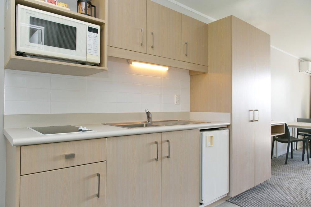 spa studio with lake view kitchenette-min.jpg