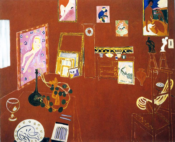 Henri Matisse, Red Studio, 1910