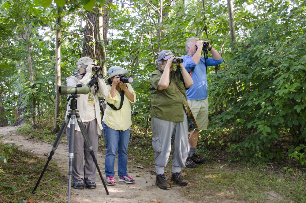August 27 Birdwalk - Tom Blackburn