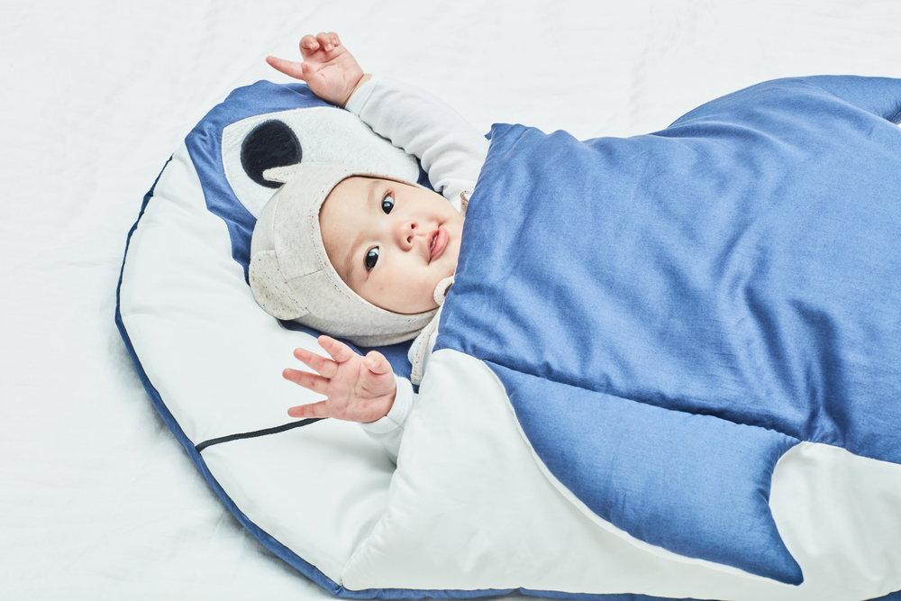 SLEEPING BAG / 유아용 멀티슬리핑백   어린이집 외출용, 실내용에 사용가능한 보낭형태의 이불입니다. 실내 및 실외 유모차등에 장착가능한 개성있고 재미있는 유아용 보낭이불입니다.  Animal shaped cute sleeping bag for home and on-the-go naps. Can also be attached to strollers.