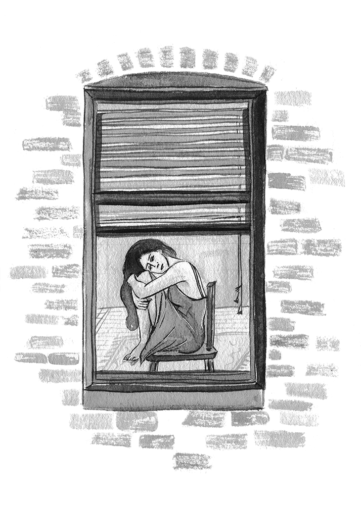 Several illustrations for Erika Ramirez's autobiographical book,  Too Much .  What would you tell your younger self? Love harder? Speak louder? Run, don't walk? Too Much takes a glimpse back at the days of a 20-something looking for love, falling hard, and finding herself in New York City. Through a revised series of blog entries, originally published 10 years earlier, writer Erika Ramirez painstakingly recollects leaving California to live her dream as a music journalist.