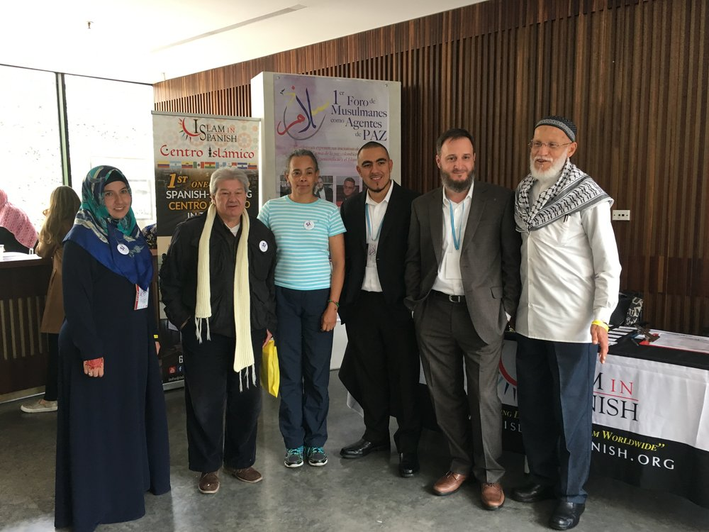 Bogota, Colombia – 1st Forum of Muslims as Agents of Peace   Oct. 1, 2016