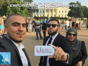 IslamInSpanish at the White House for Eid Celebration 2016