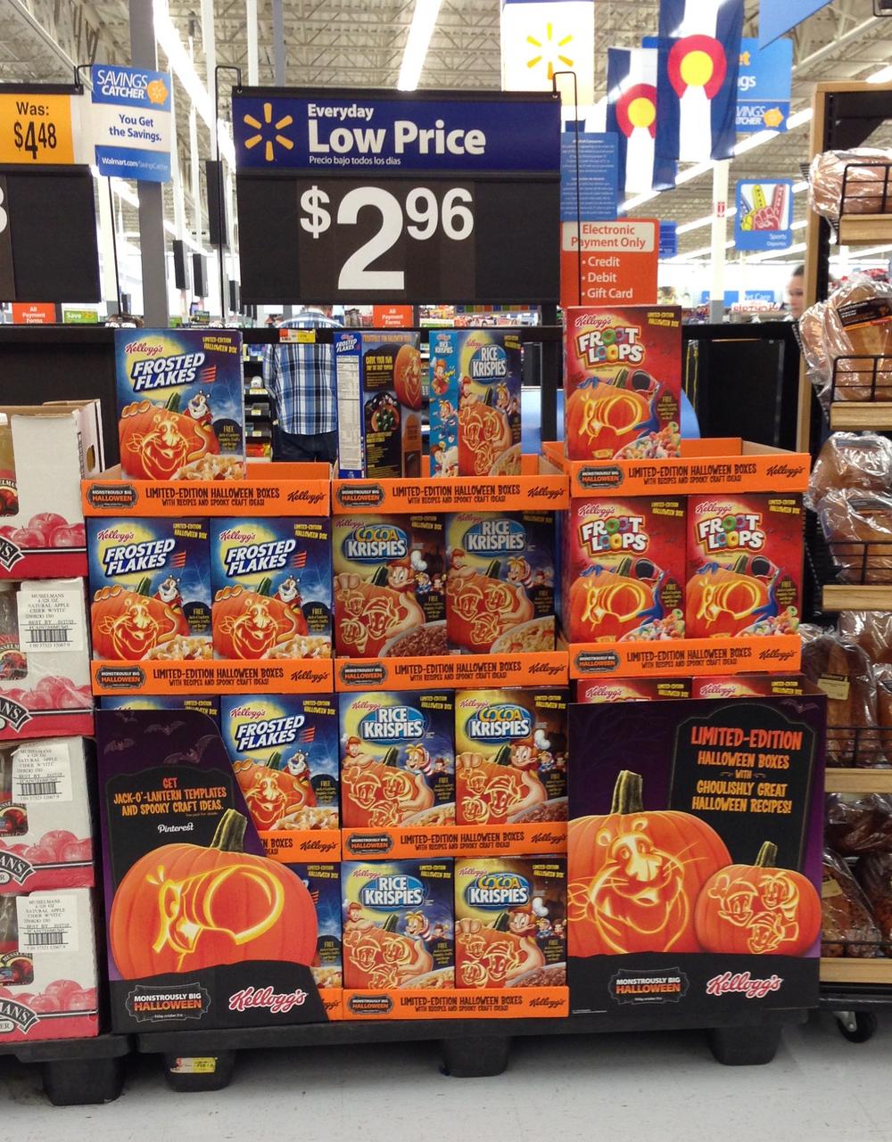 Kellogg's Walmart Halloween — Kayla Greenfield