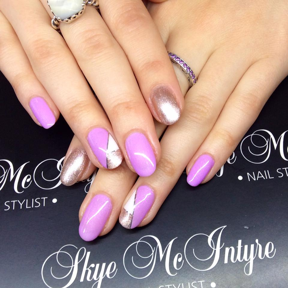 Nothing like pink polish! Nail styling and manicures Penrith