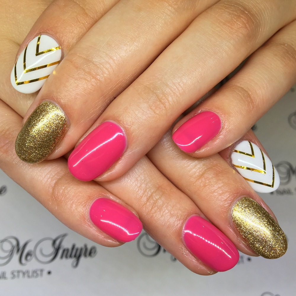 Nails are always growing so make a statement! Bold nail design in Penrith, Sydney