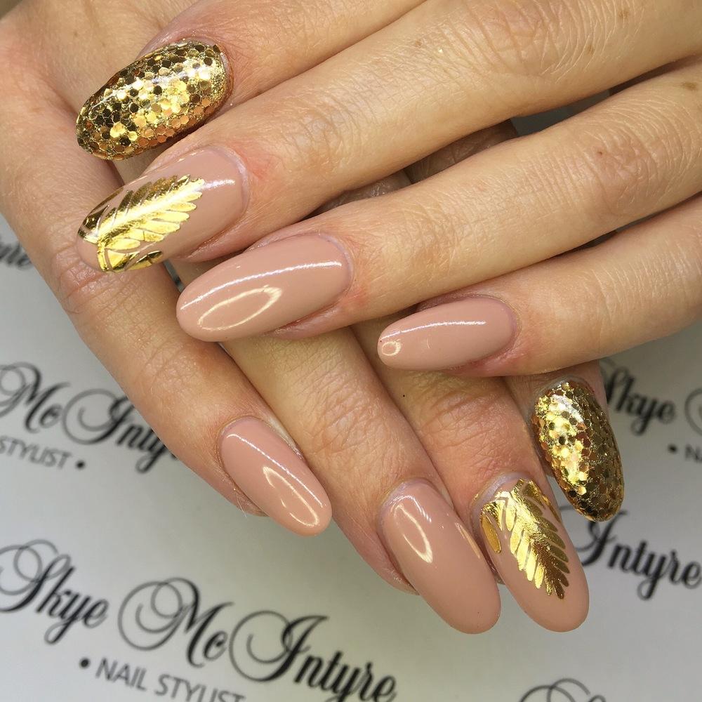 Celebrity nail styling - Skye McIntyre Sydney