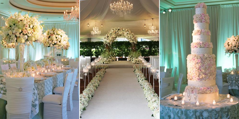 Rebecca Reategui Weddings // Sparkling Soiree // Suzy Clement Photography // Ritz Carlton San Francisco // Chandelier // Roses