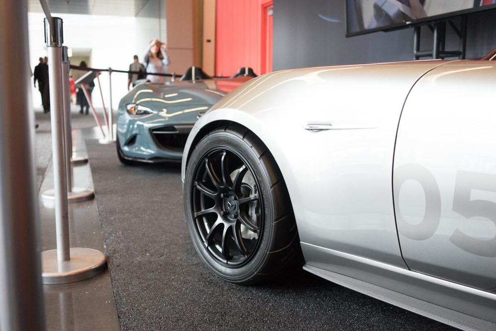 Probably the most perfect wheel/tire fitment I've ever seen on a ND miata....it just doesn't get any better than this!