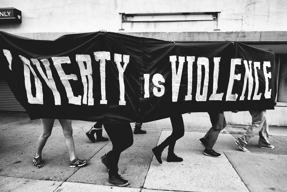 Poverty is Violence (Freddie Gray protest) | 2015