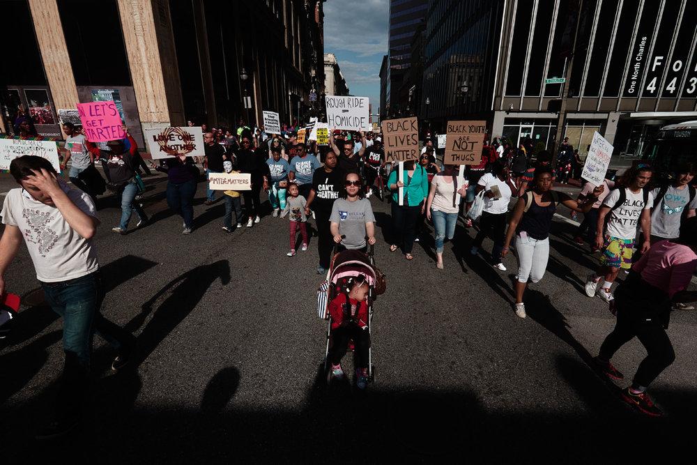 En Marche (Freddie Gray protest) | 2015