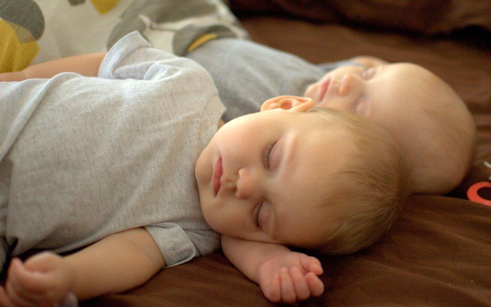 Sleeping twins Capitol Hill gentle sleep coaching