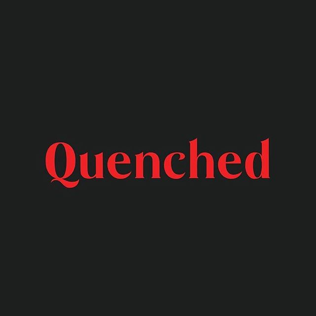 That Q tho 🔥 Black Widow progressing along nicely. More to come! — #communicationdesign #type #typeface #blackwidow #typedesign #q #quenched #typography #tdkpeepshow #designlife #glyphs #graphicdesign