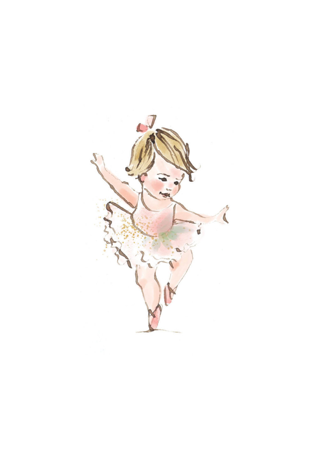 Tiny ballerina | blonde