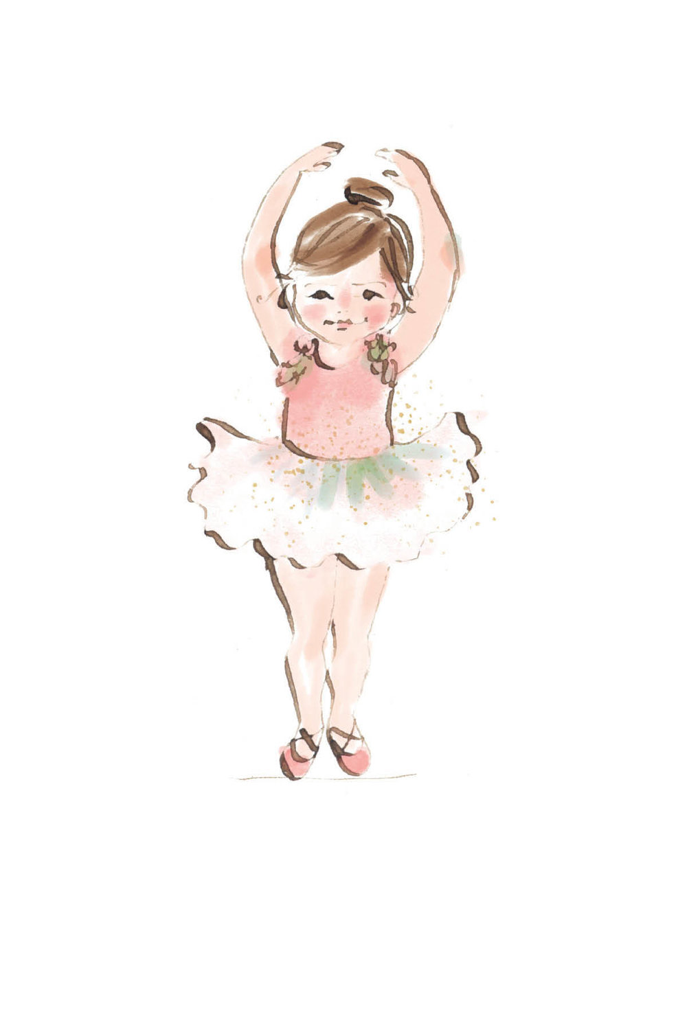 Little ballerina | brunette