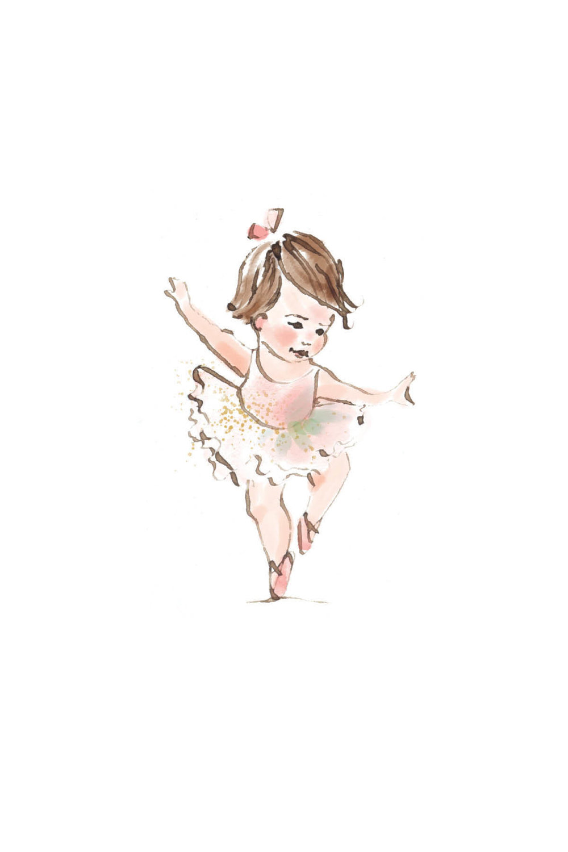 Tiny ballerina | brunette