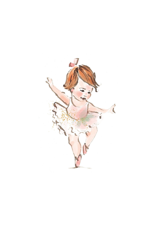 Tiny ballerina | redhead