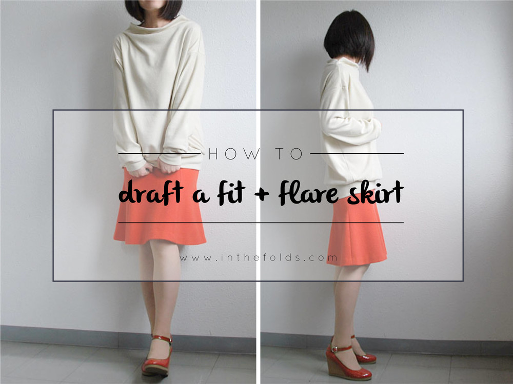 how_to_draft_a_fit_and_flare_skirt_1
