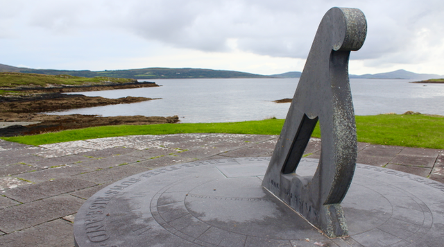 """Air India Memorial, West Cork"" by Subherwal licenced under CC 2.0."