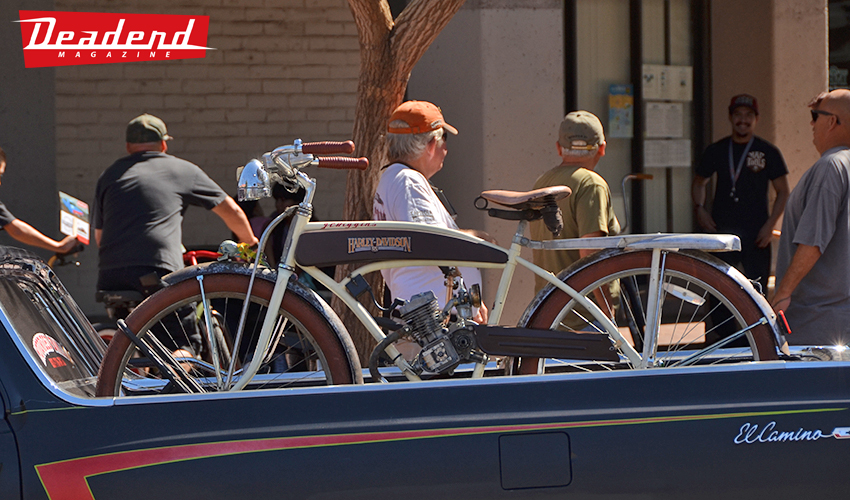 A lot of neat beach cruisers, customs bikes & vintage bikes show up to ride.