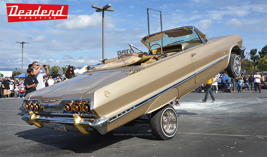 This clean '63 rag top was one of the cleanest hoppers.