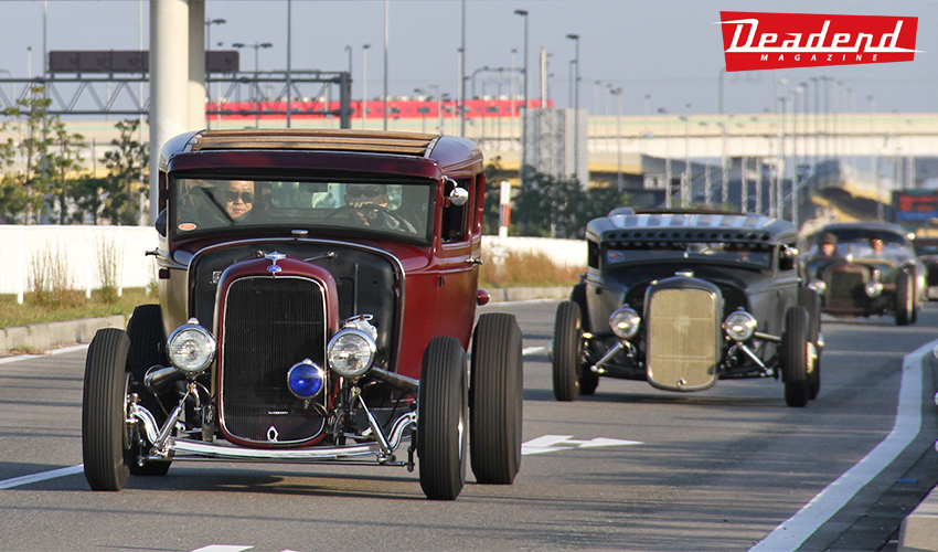 Japan may be known for wild customs, low riders & paint jobs but the crew at Art's Body is building some really nice traditionally inspired Hot Rods in Nagoya Japan.
