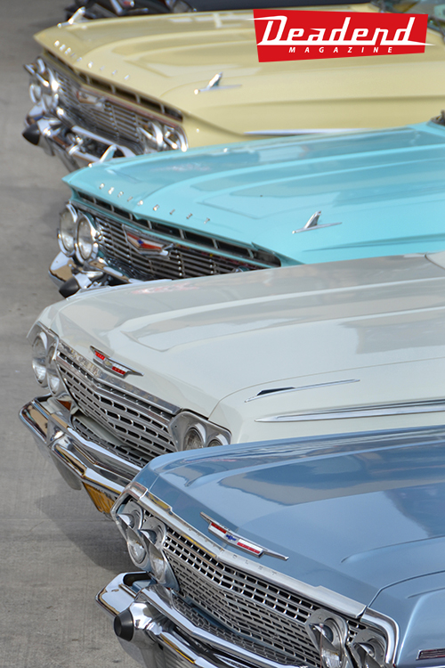 Majestics Car Club from San Diego, CA showed off their Impalas.