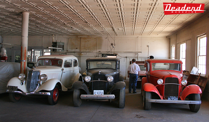 Delbert had the old dealership filled with some neat collection of car to say the least.