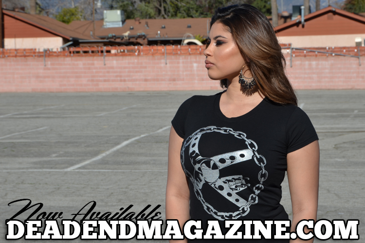 Visit our online shop to get your ladies chain steering wheel shirt.