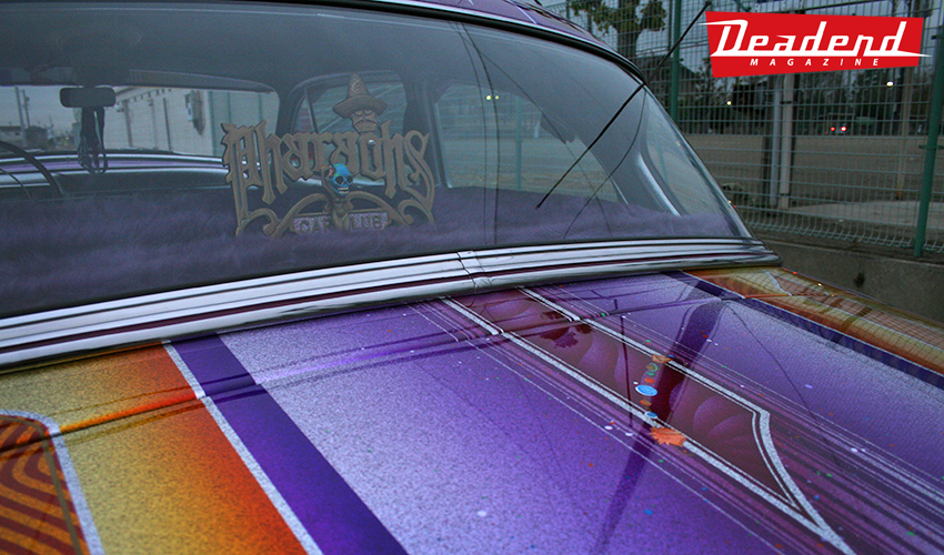 Cholo's Sphynx has one of the most memorable paint jobs in Japan
