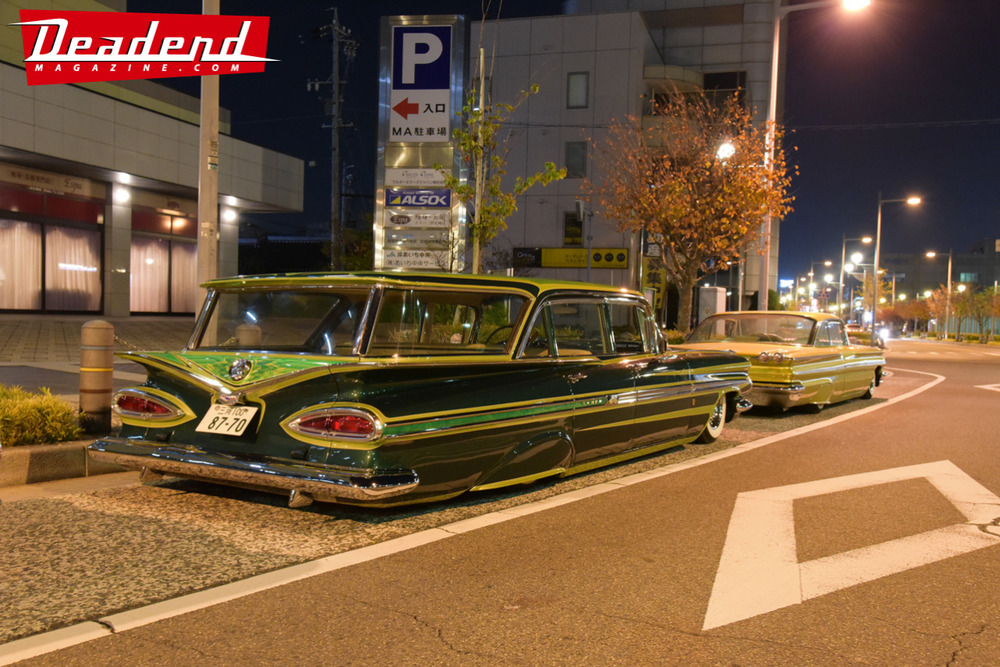 Strongers Car Club out on the streets of Japan.