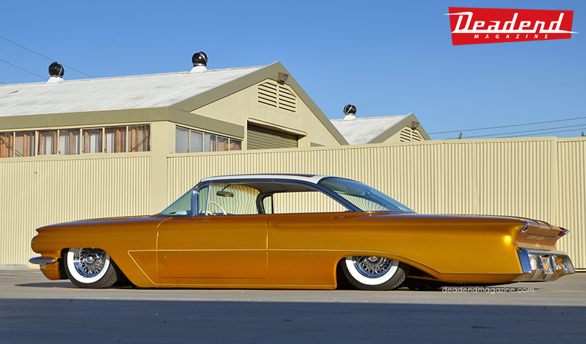 As soon as Eric sent us some photos of his completed Olds we were very eager to shoot it.