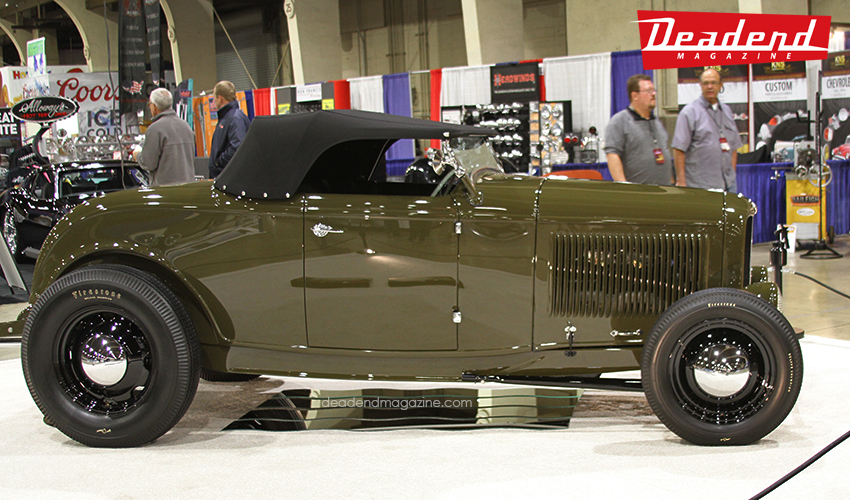 "We were pleasantly surprised to see our good friend Darryl Hollenbeck win this year's ""America's Most Beautiful Roadster."" It was our pick for many reasons but we had no idea it would actually win. I think many traditionalist are very happy and feel like ""one of us"" won. Congrats to the Hollenbecks and anyone involved with the build."