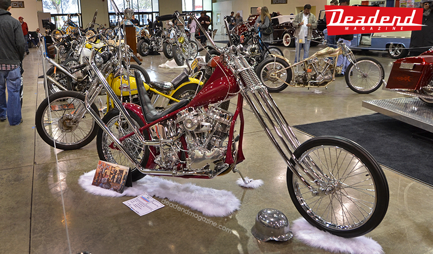 Vee Manufacturing's Dave Mann inspired chopper.