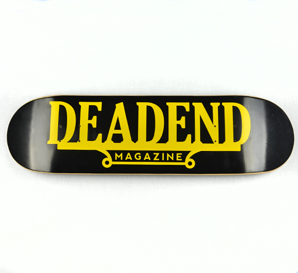 "We also created the ""Deadend Plaque"" skateboard."