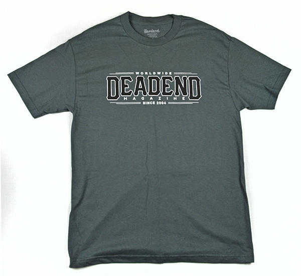 Also look out for this charcoal grey shirt (with a matching baseball cap)