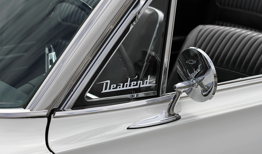 Our original Deadend logo is great for wing windows.