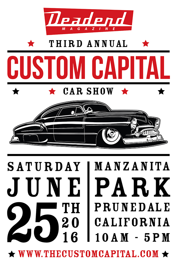 Custom Capital - Saturday June 25, 2016 - Manzanita Park - Prunedale, CA