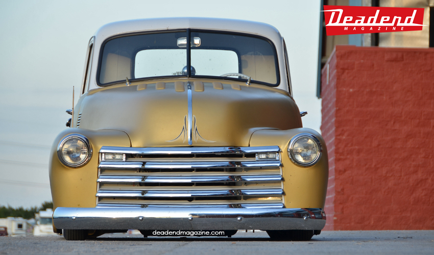 Jeff Warner's 52 Chevy Pick-Up.