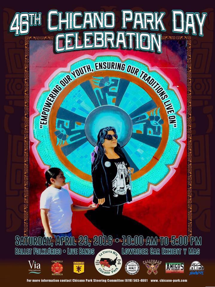 Chicano Park Day - San Diego, CA Saturday - April 23, 2016