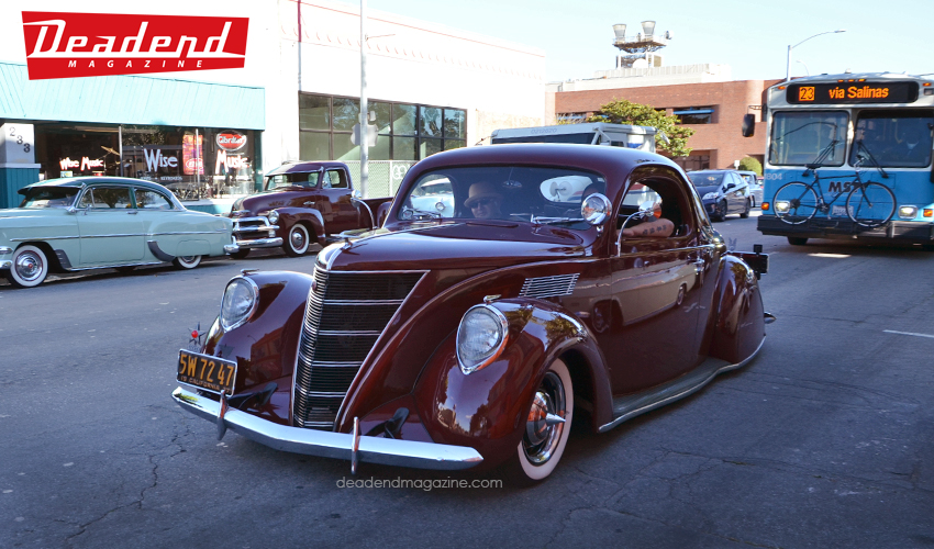 Ruben Cardona debuted his 1937 Zephyr that night and got the well-deserved attention.