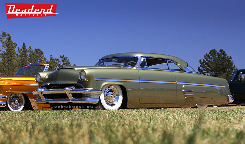 The Deadend Magazine pick went to Scott Roberts' beautiful 1954 Mercury.