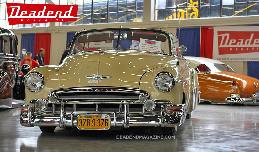 Clean rag top in the Deadend Magazine Low Rider Exhibit room.