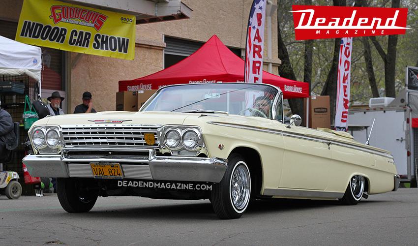 Jesus Villalobos' super clean 1962 Impala.