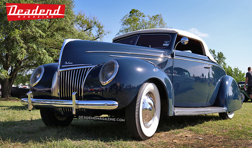 The Deadend Magazine pick went to Blake & Joyce Burwell's beautiful 39 Ford.