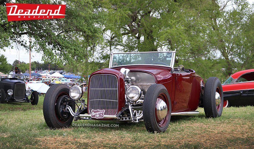 Brian Auderer's beautiful roadster.