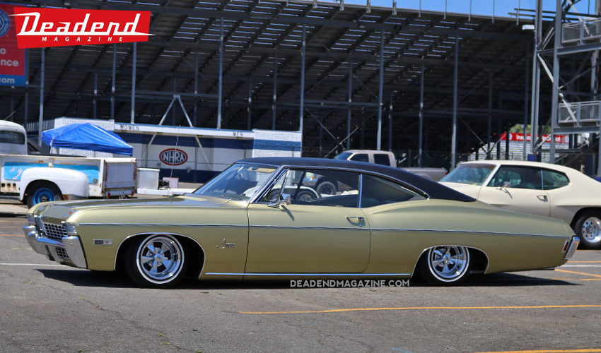 Very cool 67 Impala.