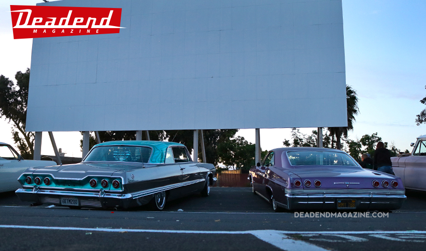 A couple Impalas front & center.